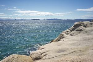 とびしま海道・磯の風景