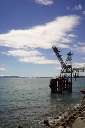 島の採石場
