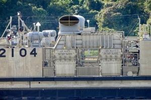 海自エアクッション艇