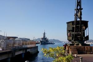 訓練支援艦の帰還