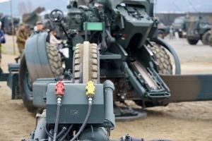 陸自装備品展示