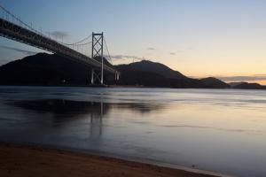 尾道・元日の夜明け前