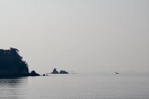 県民の浜へ
