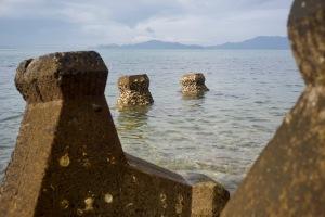大地蔵の海岸風景