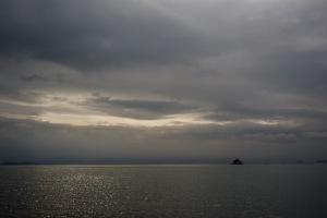 瀬戸内の海自訓練空域