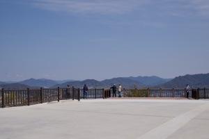 黄金山の展望台