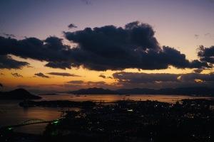 黄金山と夜釣り