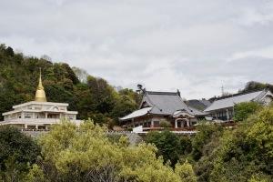黄金山と己斐国泰寺