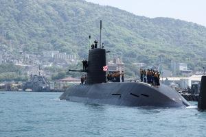 遭遇の潜水艦