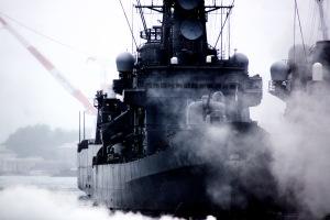 艦船モクモク