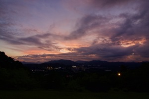 わが町の夜景