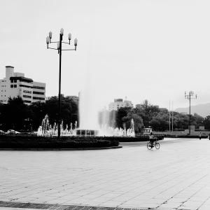雨上がりの平和公園