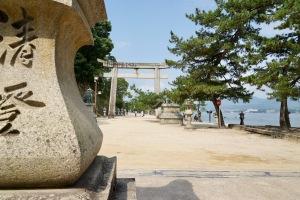 16,895歩の宮島
