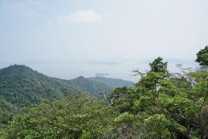 弥山の山下り