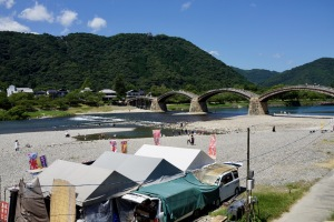 夏の錦帯橋