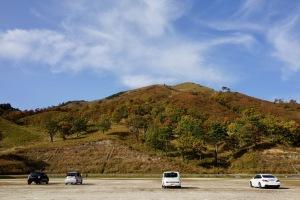 八幡高原の秋色