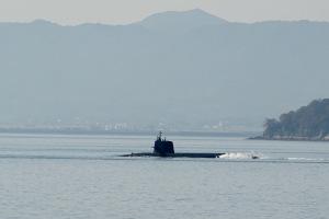潜水艦訓練海域