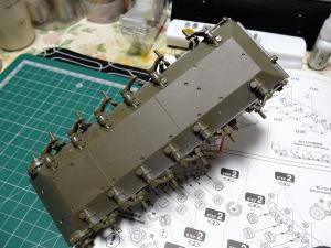 プラモ-61式の足周り