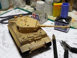 Tiger Ⅰ  製作中