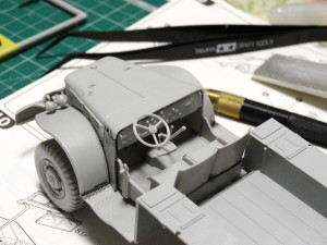 プラモ便り-6輪駆動車